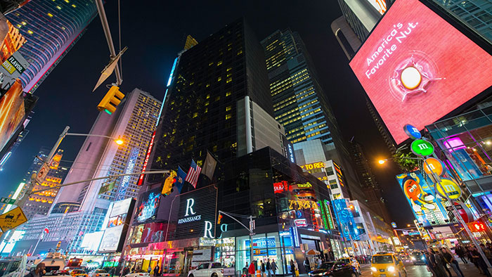 Escapade vers New York en mai